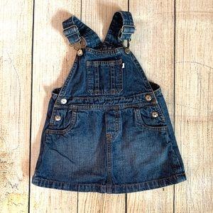 Carter's Jean Overall Dress Size 18 Months